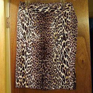 Dresses & Skirts - Animal Print Pencil Skirt
